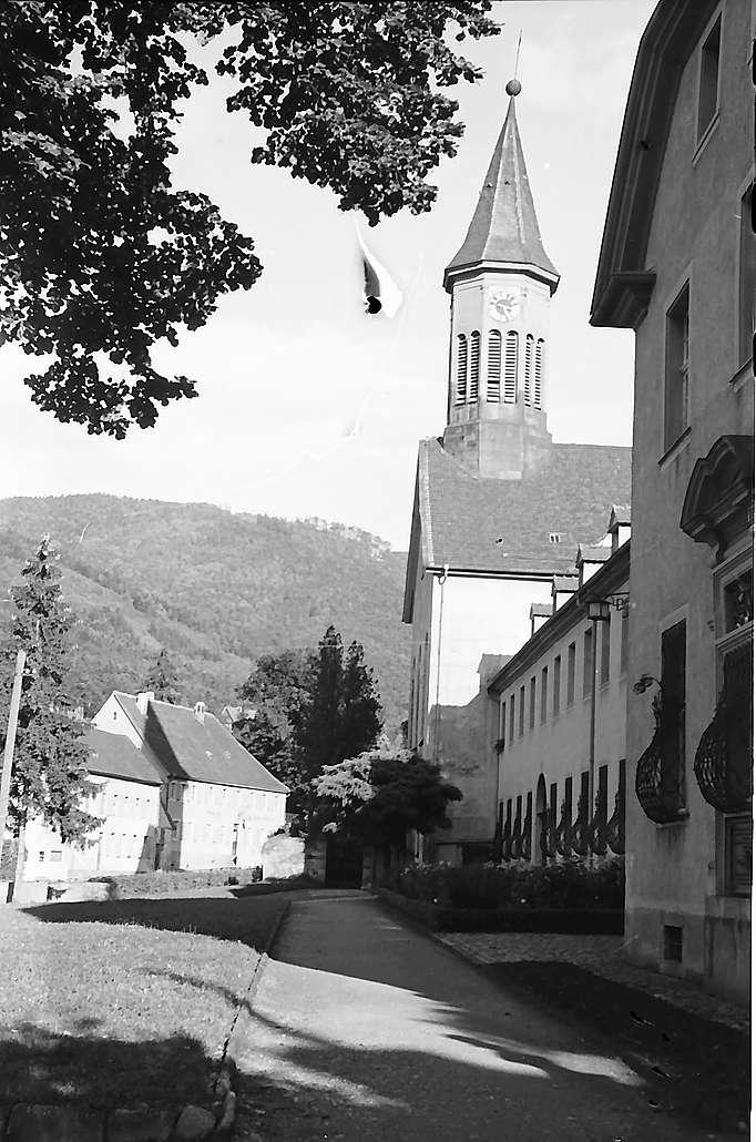 Freiburg i. Br.: Front des Klosters Günterstal, Bild 1