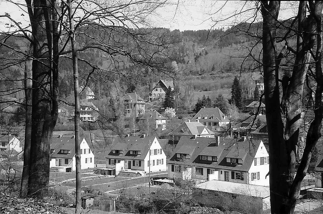 Freiburg i. Br.: Neue Siedlunghäuser in der Schauinslandstraße Günterstal, Bild 1