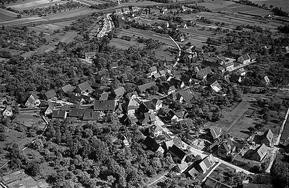 Freiburg i. Br. aus der Luft, Gundelfingen, Bild 1
