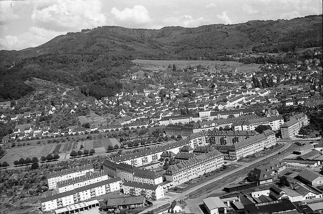 Freiburg i. Br. aus der Luft, Herdern, Bild 1