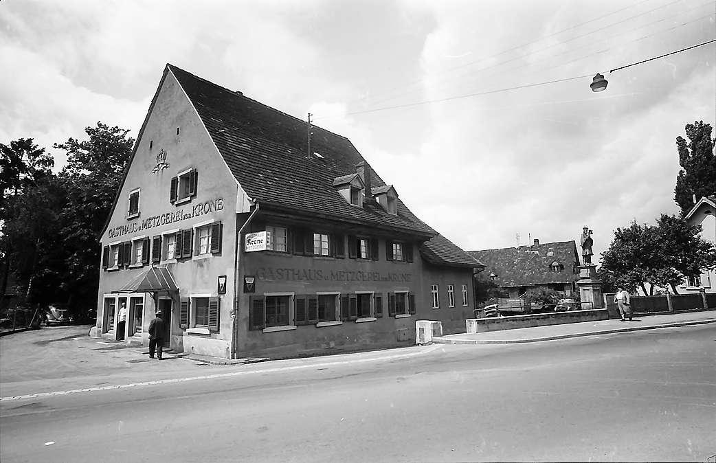 Freiburg i. Br.: Gasthaus Zur Krone in Zähringen, Gesamtansicht, Bild 1