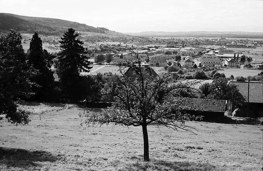Freiburg i. Br.: Blick vom Lorettoberg nach St. Georgen, Bild 1