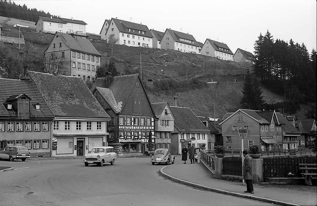 Brücke über die Breg in Furtwangen, Bild 1