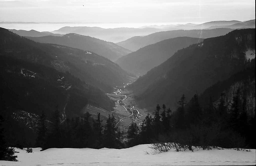 Blick vom Feldberg Richtung Fahl, Bild 1