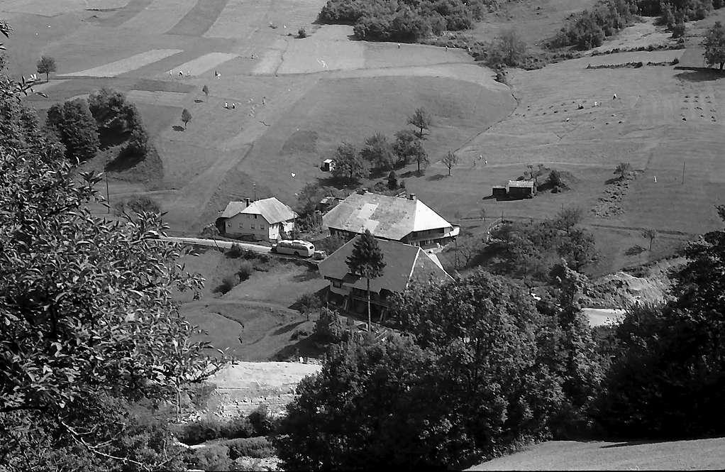 Höfe bei Schlechtnau von oben, Bild 1