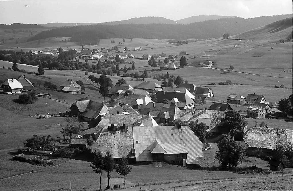 Blick vom Scheibenberg auf Innerlehen, Bild 1