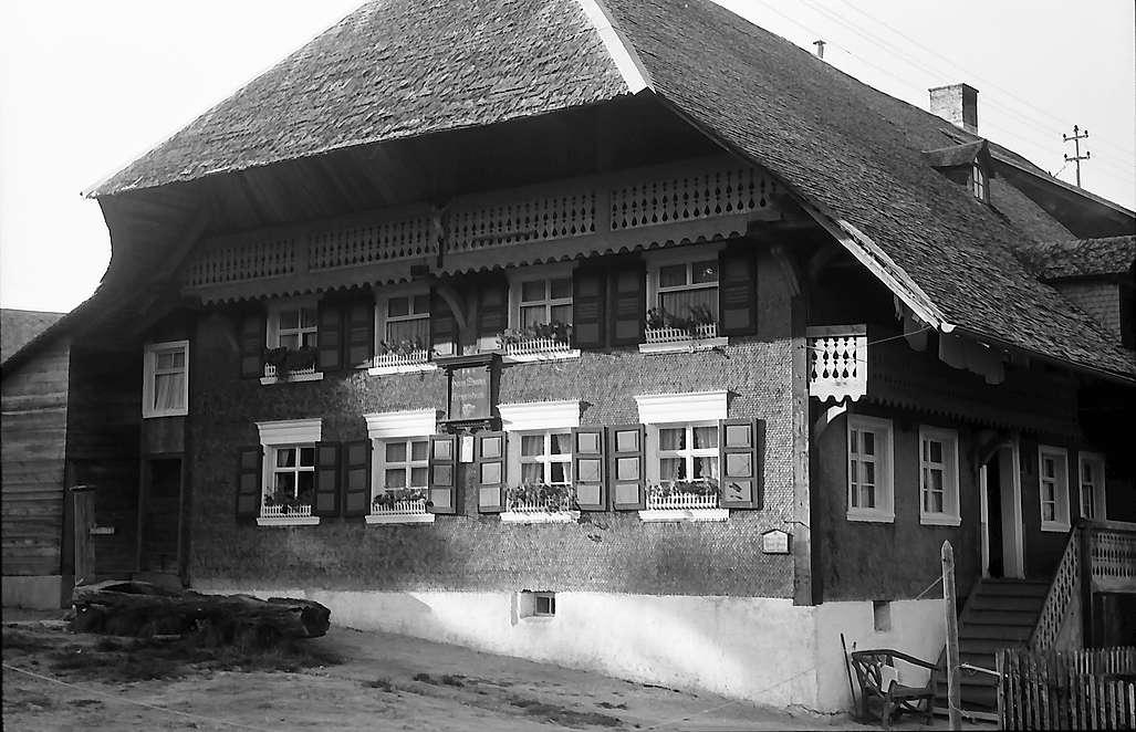 Das Hans-Thoma-Geburtshaus in Bernau-Oberlehen, Bild 1