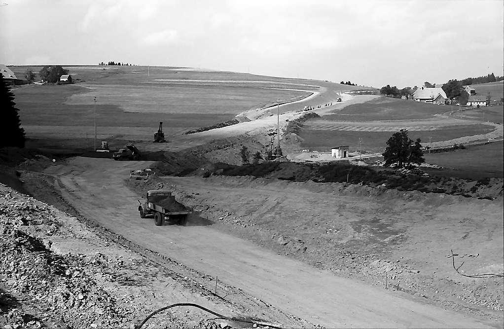 Ausbau der Landstraße bei Breitnau, Bild 1
