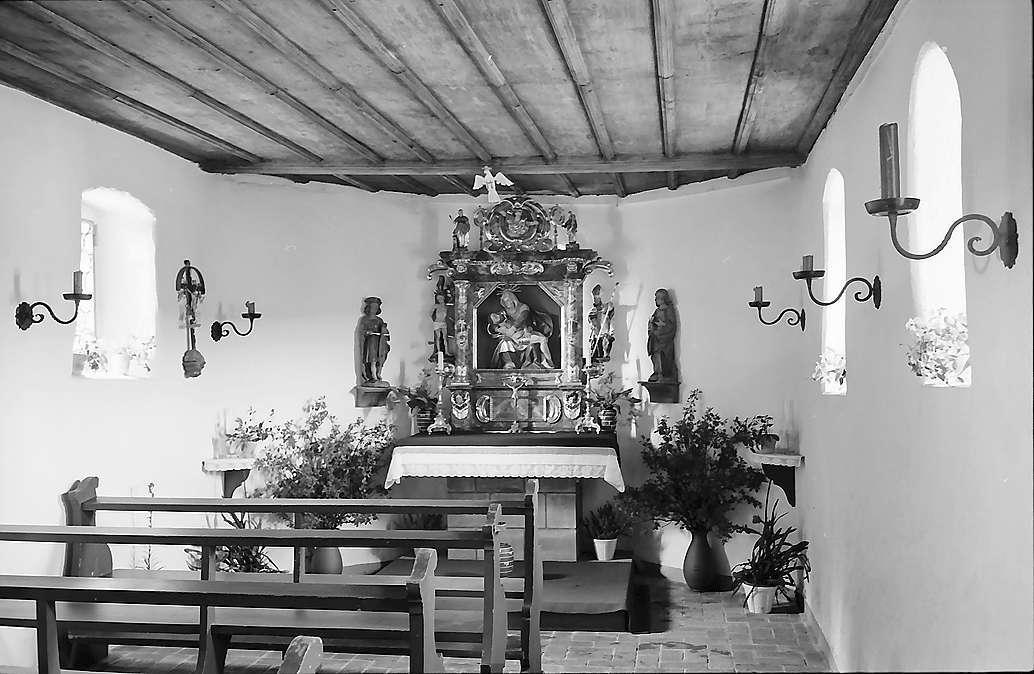 Innenansicht der Martinskapelle bei Furtwangen, Bild 1