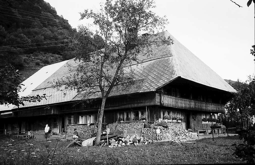 Altes Schwarzwaldhaus bei Geschwend, Bild 1