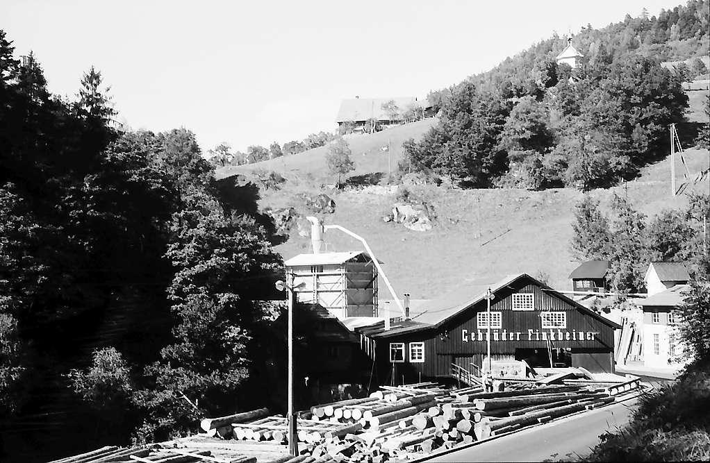Sägewerk der Gebr. Finkbeiner bei Triberg, Bild 1