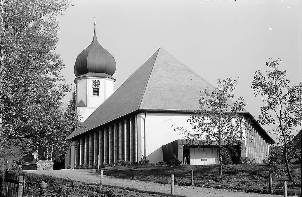Kirche von Hinterzarten nach dem Umbau, Bild 1