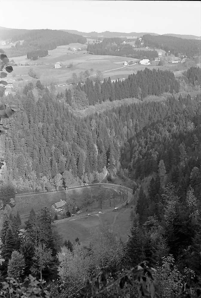Blick über das Höllental nach Hinterzarten, Bild 1