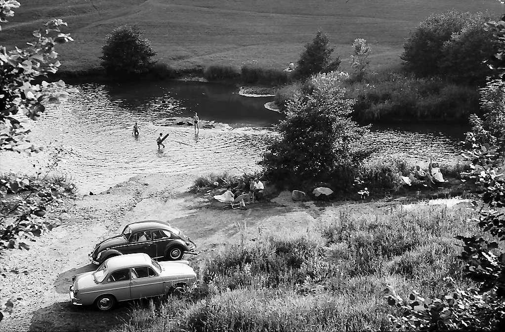 Stauweiher bei Tegernau, Bild 1