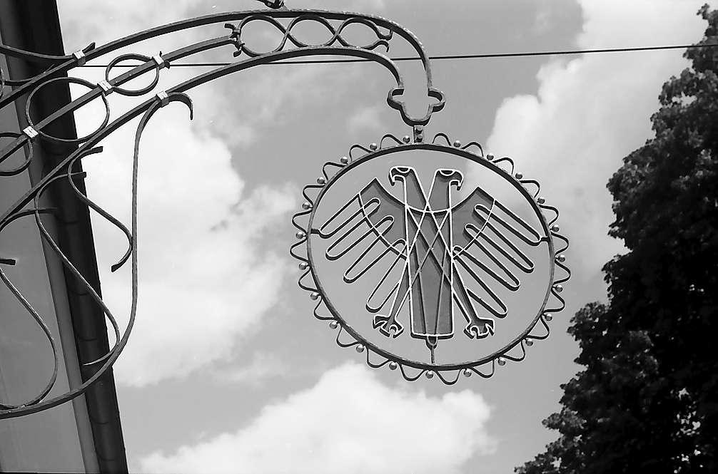 Aushängeschild des Gasthauses Adler in Untermünstertal, Bild 1