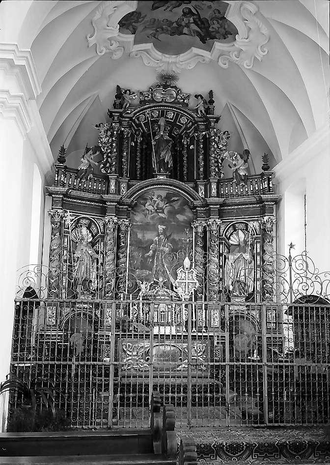 Altar in der St. Trudpert-Kapelle im Münstertal, Bild 1