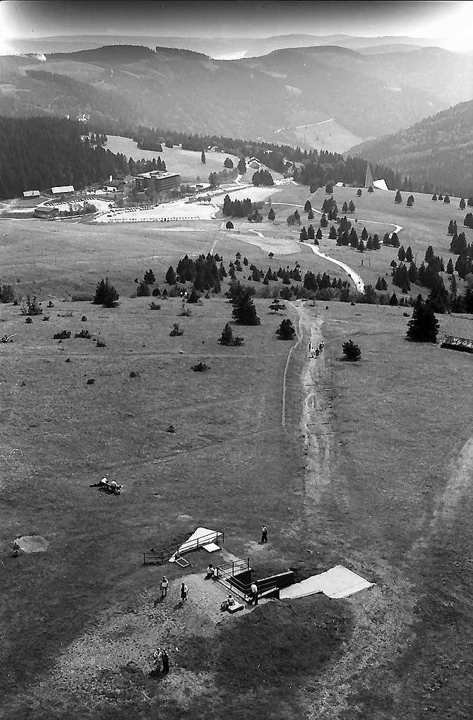Blick vom Fernsehturm auf dem Feldberg Richtung Osten, Bild 1