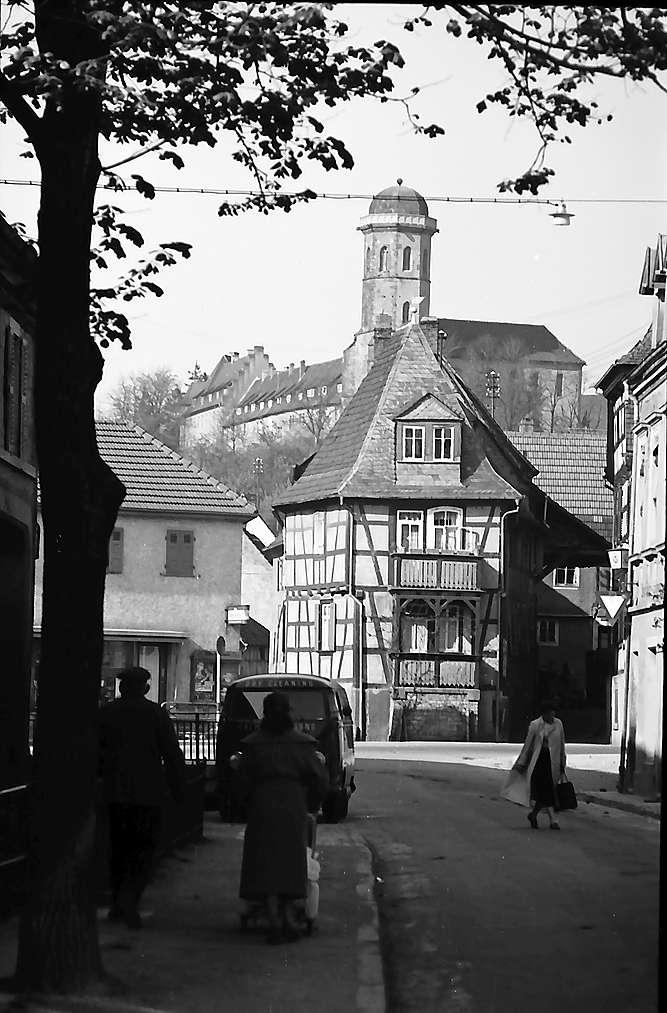 Sinsheim: Fachwerkhaus, Bild 1