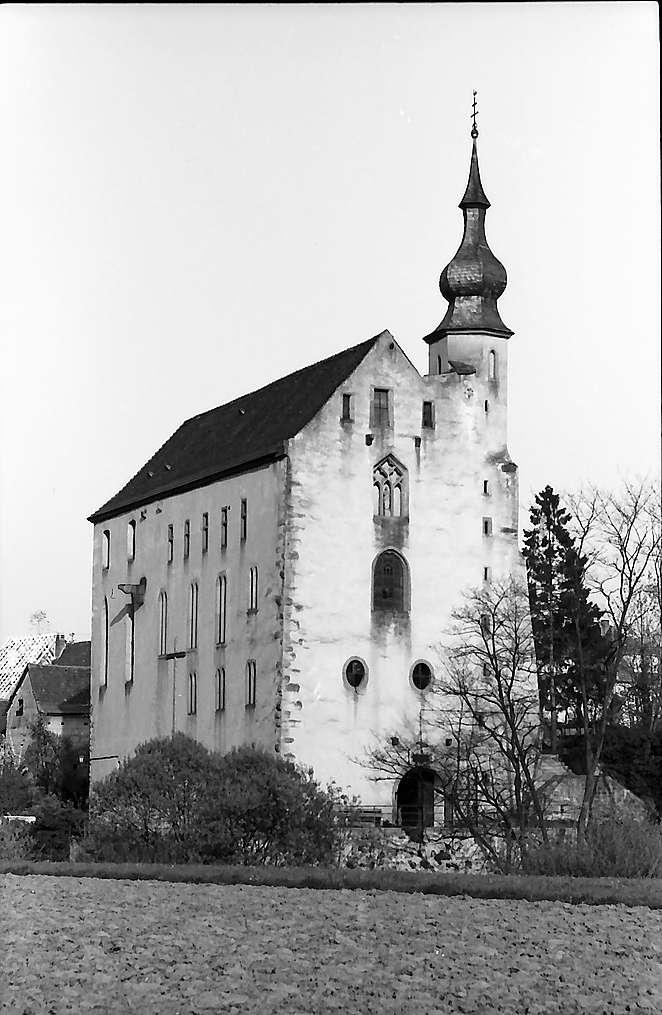 Neckarelz: Das Templerhaus von der Seite, Bild 1