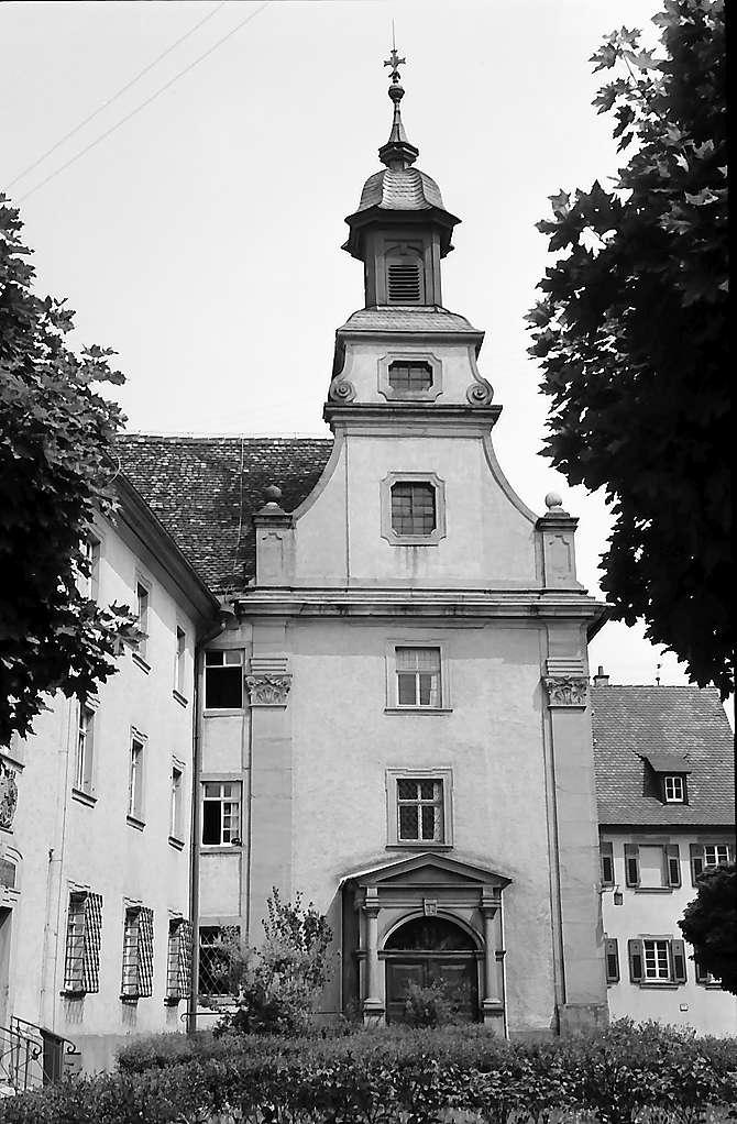 Bad Mergentheim: Barockbau am ehemaligen Kloster, Bild 1