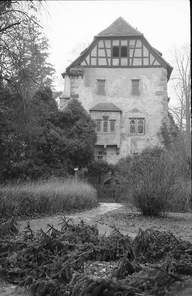 Neckarbischofsheim: Steinernes Haus am Schloss, Bild 1