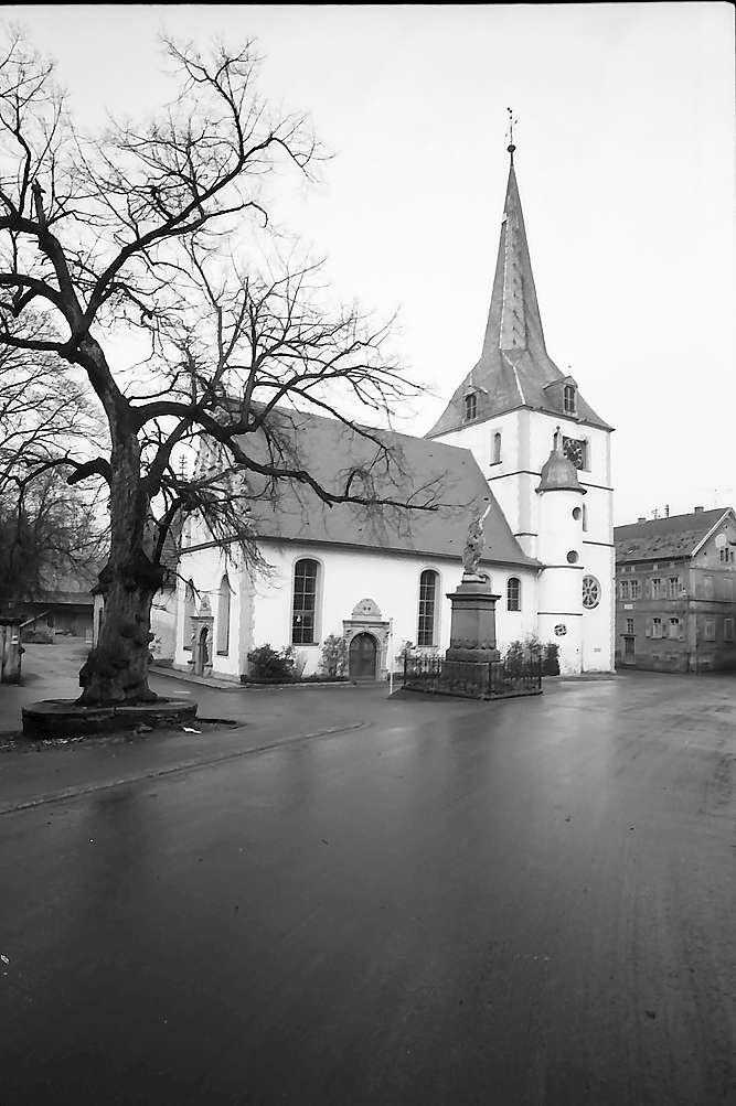 Neckarbischofsheim: Kirche, Bild 1