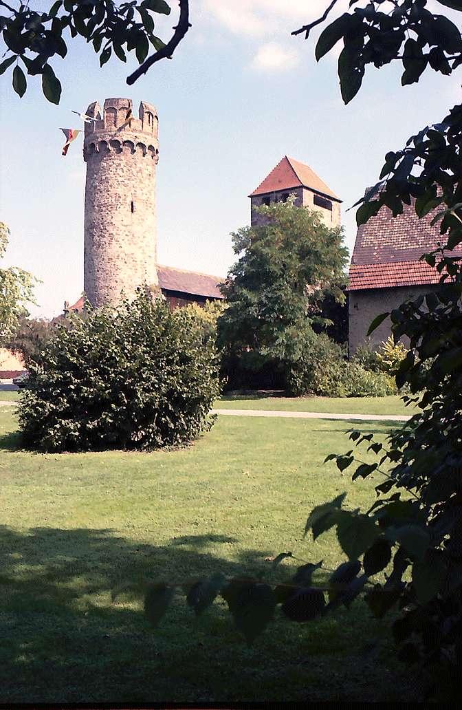 Ladenburg: Hexenturm und Martinstor, Bild 1