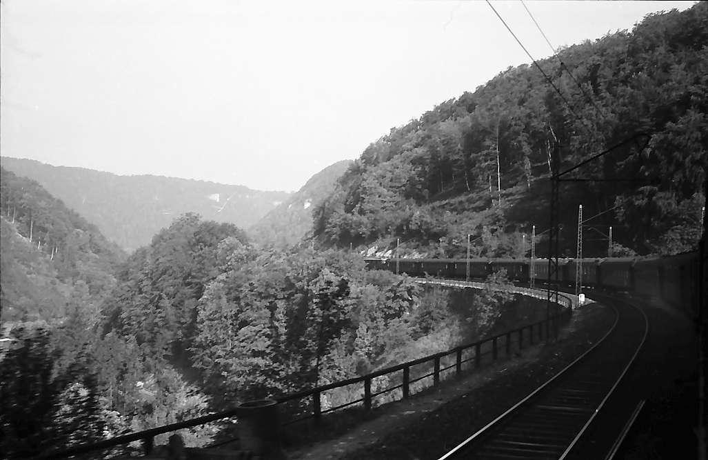 Geislingen: Bahnstrecke bei der Geislinger Steige, Bild 1
