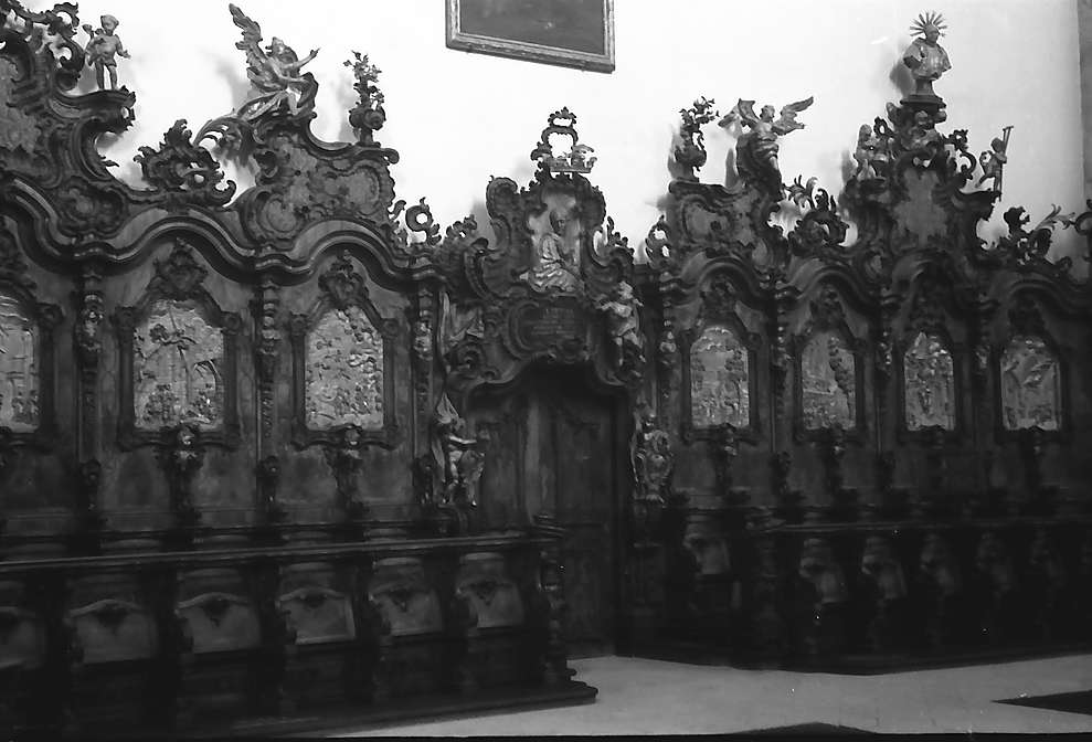 Zwiefalten: Chorgestühl im Kloster, Bild 1
