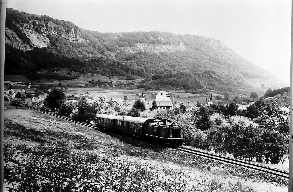 Geislingen: Bahnstrecke, Bild 1
