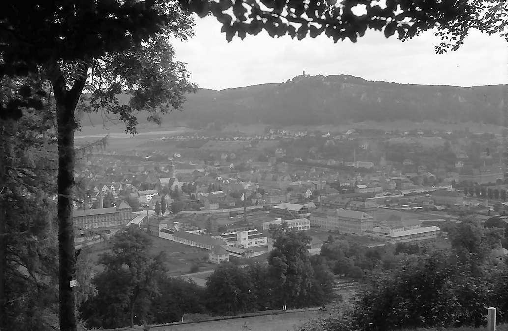 Ebingen: Blick von oben auf die Stadt, Bild 1