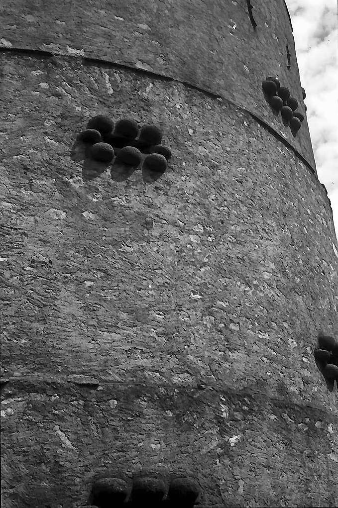 Trochtelfingen: Turm mit Schießscharten, Bild 1