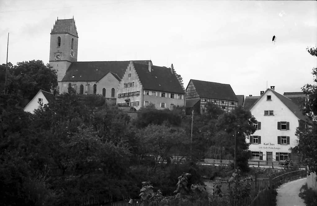 Bingen: Kirche und Ort, Bild 1