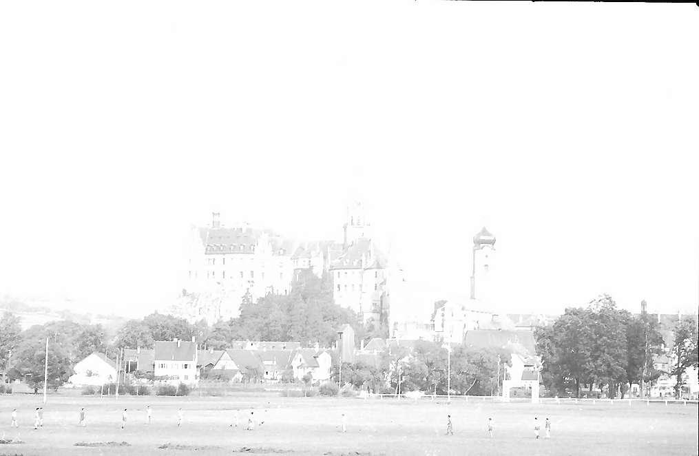 Sigmaringen: Schloss von unten, Bild 1