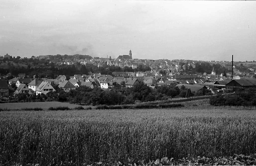 Hechingen: Blick auf die Stadt, Bild 1