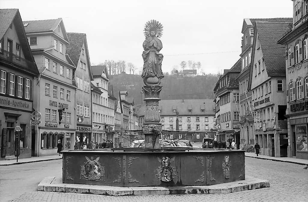 Schwäbisch Gmünd: Marktbrunnen, Bild 1