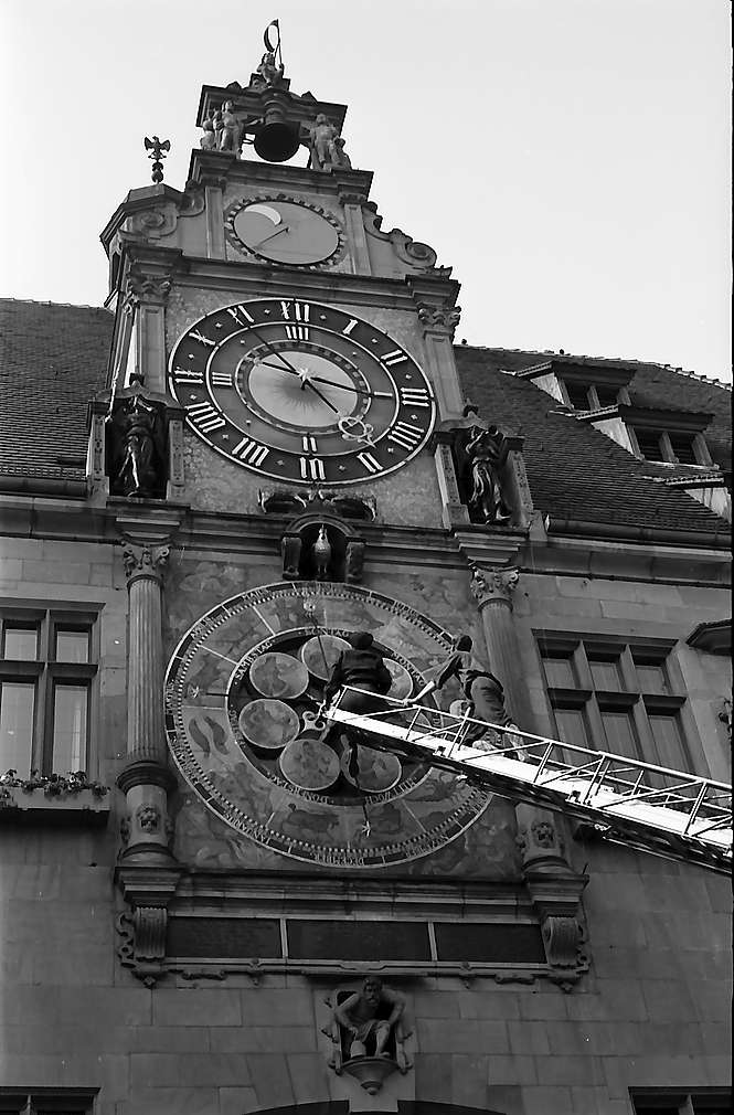 Heilbronn: Astronomische Uhr am Rathaus, Bild 1