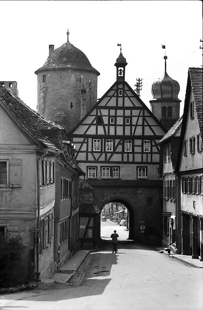 Langenburg: Stadttor, Bild 1