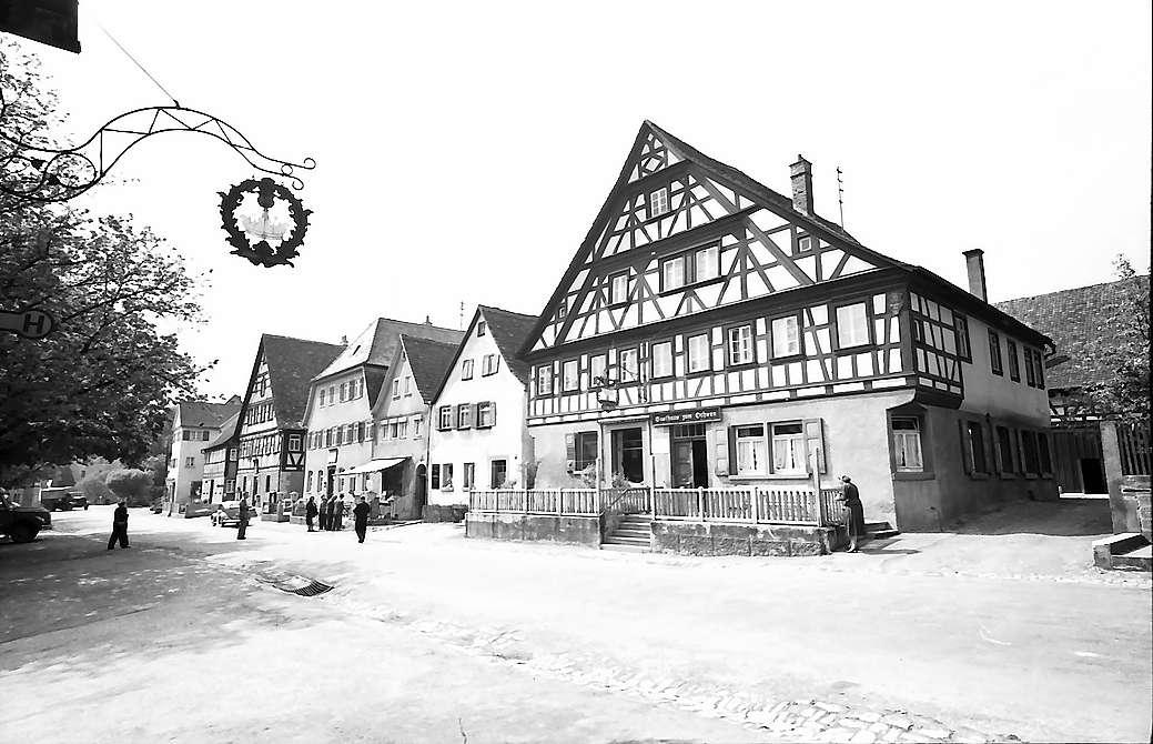 Langenburg: Fachwerkhäuser, Bild 1