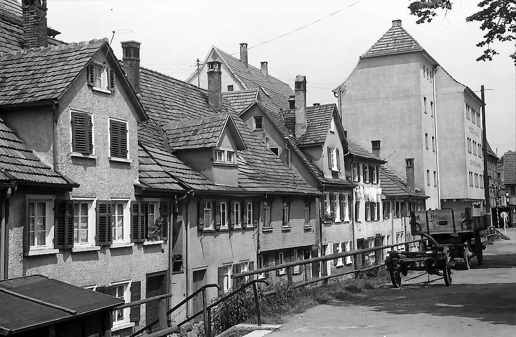 Reutlingen: Häuser an der Stadtmauer, Bild 1