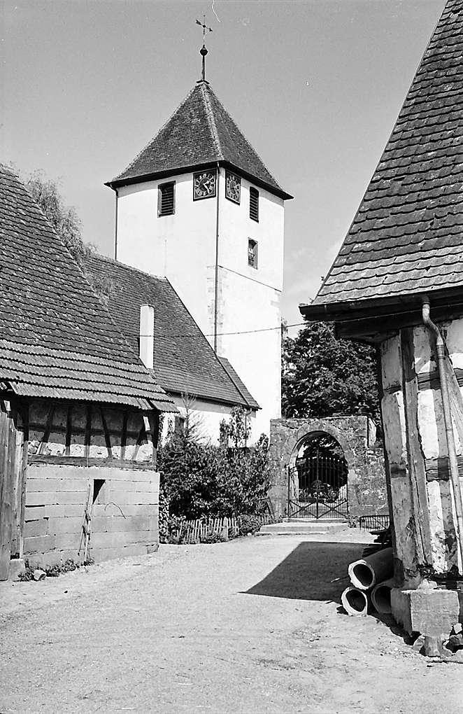 Michelfeld: Alte Wehrkirche, Bild 1