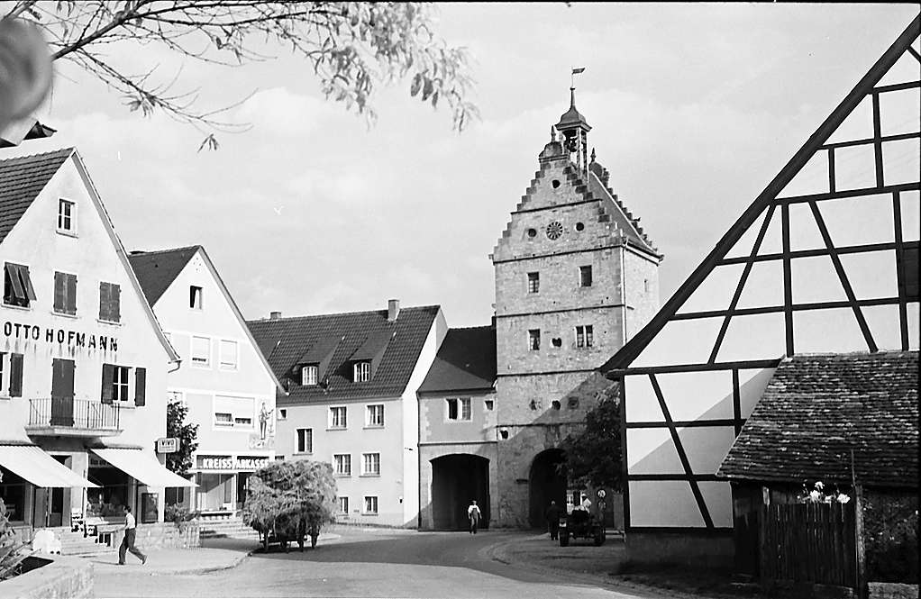 Ilshofen: Stadttor, Bild 1
