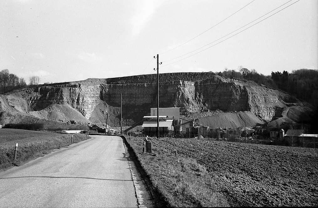Berlichingen: Steinbruch in der Nähe der Stadt, Bild 1