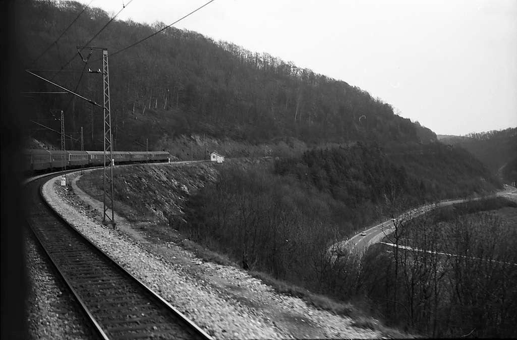 Geislingen: Zug an der Geislinger Steige, Bild 1