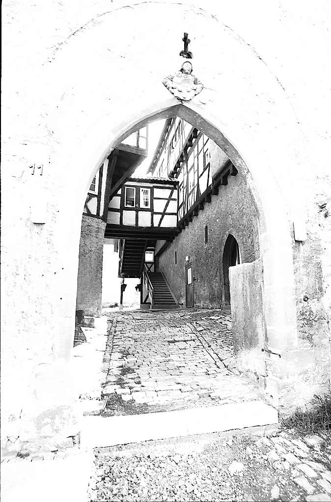 Freiberg-Beihingen: Aufgang zum Schlossberg, Bild 1