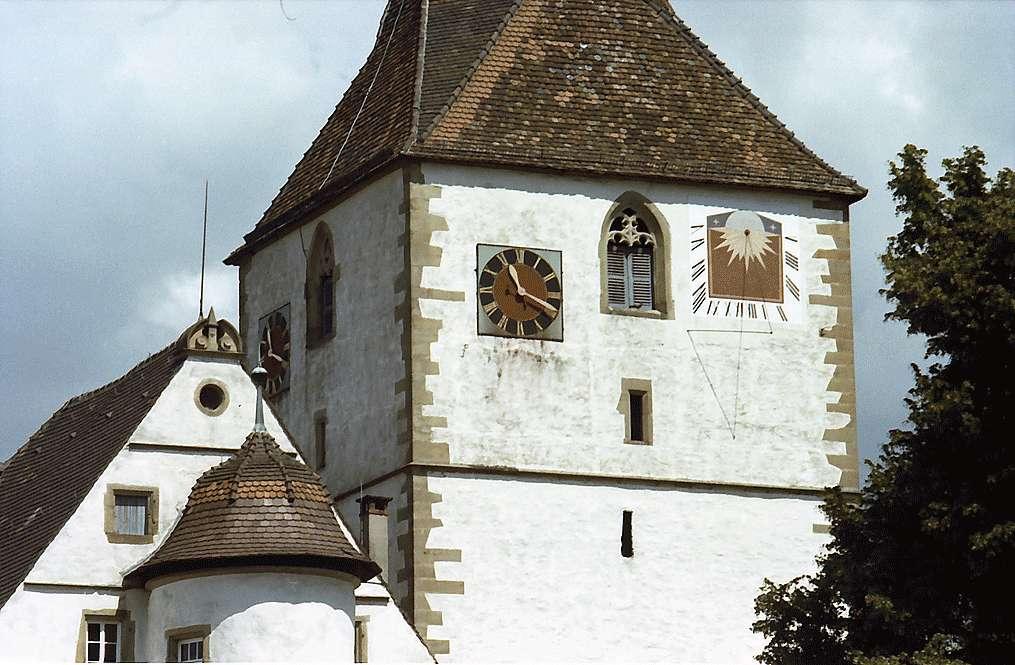Freiberg-Beihingen: Wehrturm der ev. Pfarrkirche, Bild 1