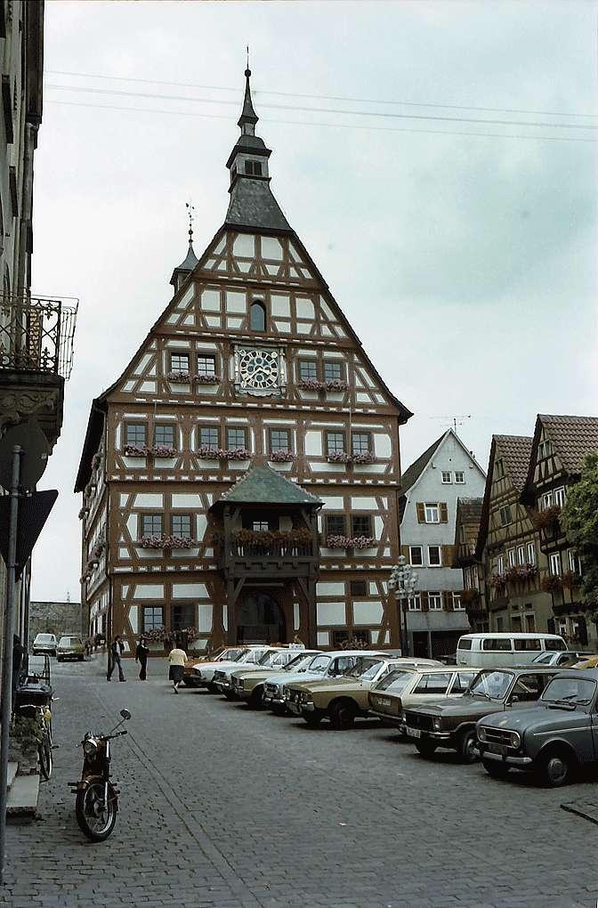 Besigheim: Rathaus, Bild 1