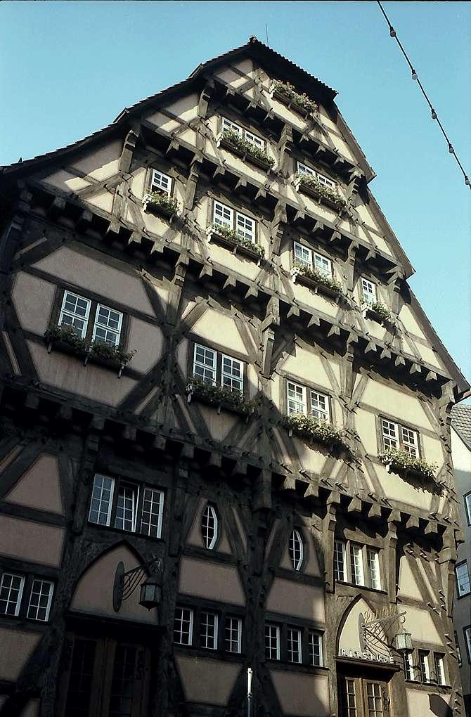 Esslingen: Fachwerkhaus, Bild 1
