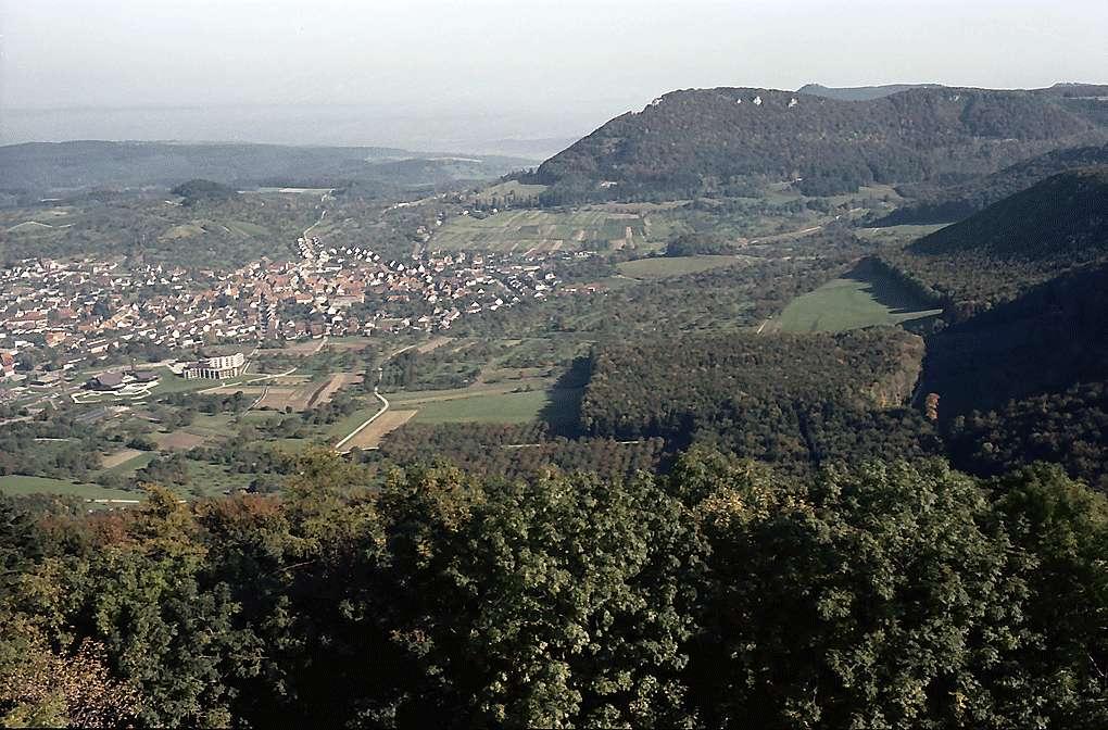 Neuffen: Albpanorama Richtung Osten, Bild 1