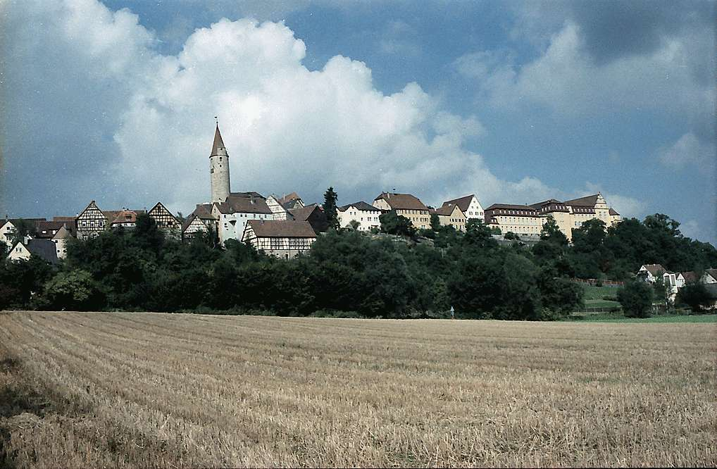Kirchberg: Ortsbild auf der Höhe, Bild 1
